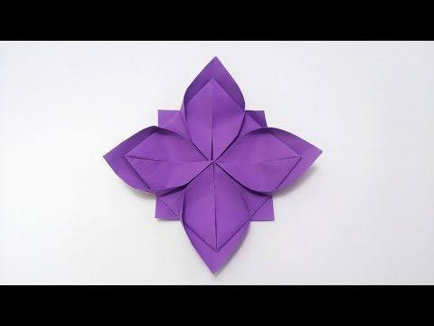 How to make origami narcissus flower diy easy flower paper how to make origami narcissus flower diy easy flower paper youtube mightylinksfo