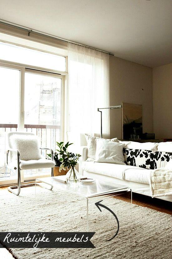 Lifestyle tip #5 - Ruimtelijke meubels