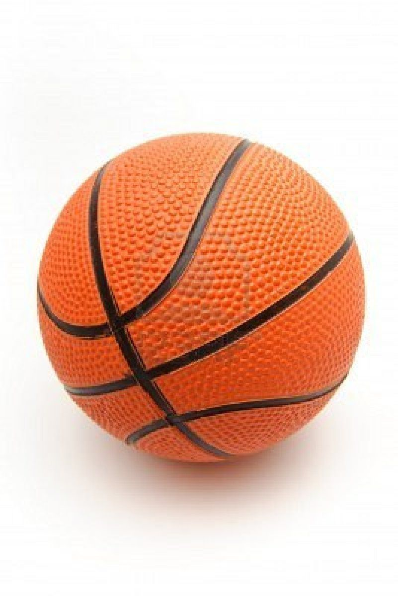 Basketball Ball White Background