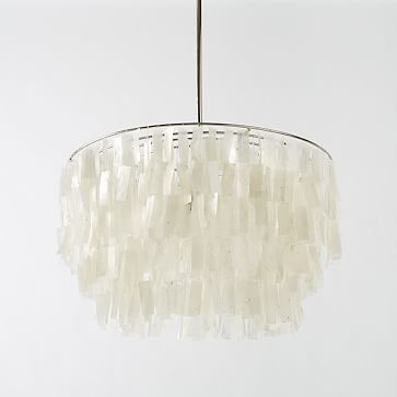 Round capiz chandelier white westelm beachy decor pinterest round capiz chandelier white westelm beach lightingceiling mozeypictures Image collections