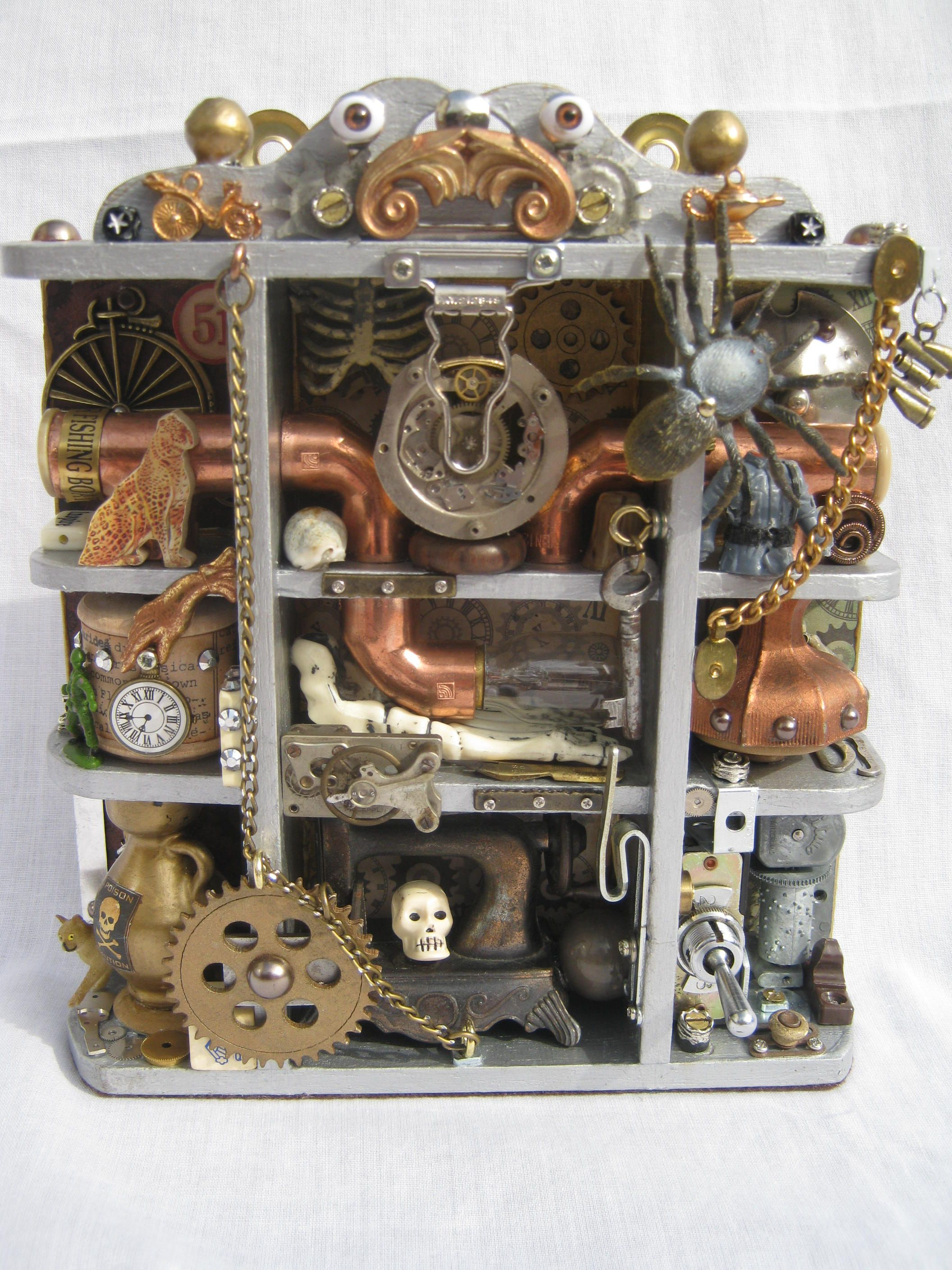 Steampunk Furniture For Sale Sold A Steampunk Shadow Box To See My Latest Items For