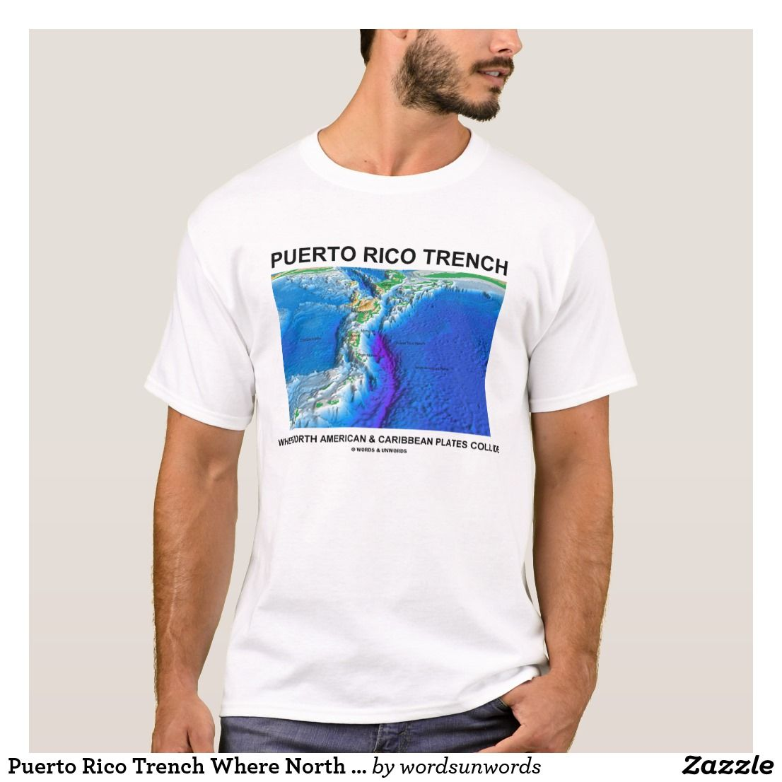Puerto Rico Trench Where North American Caribbean T Shirt