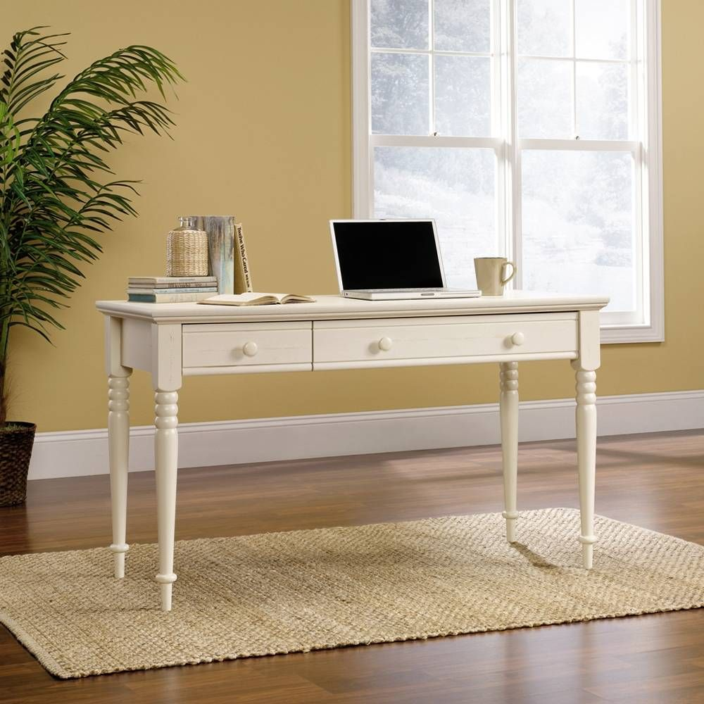 Escritorio sauder harbor view blanco 3 en for Muebles de oficina walmart