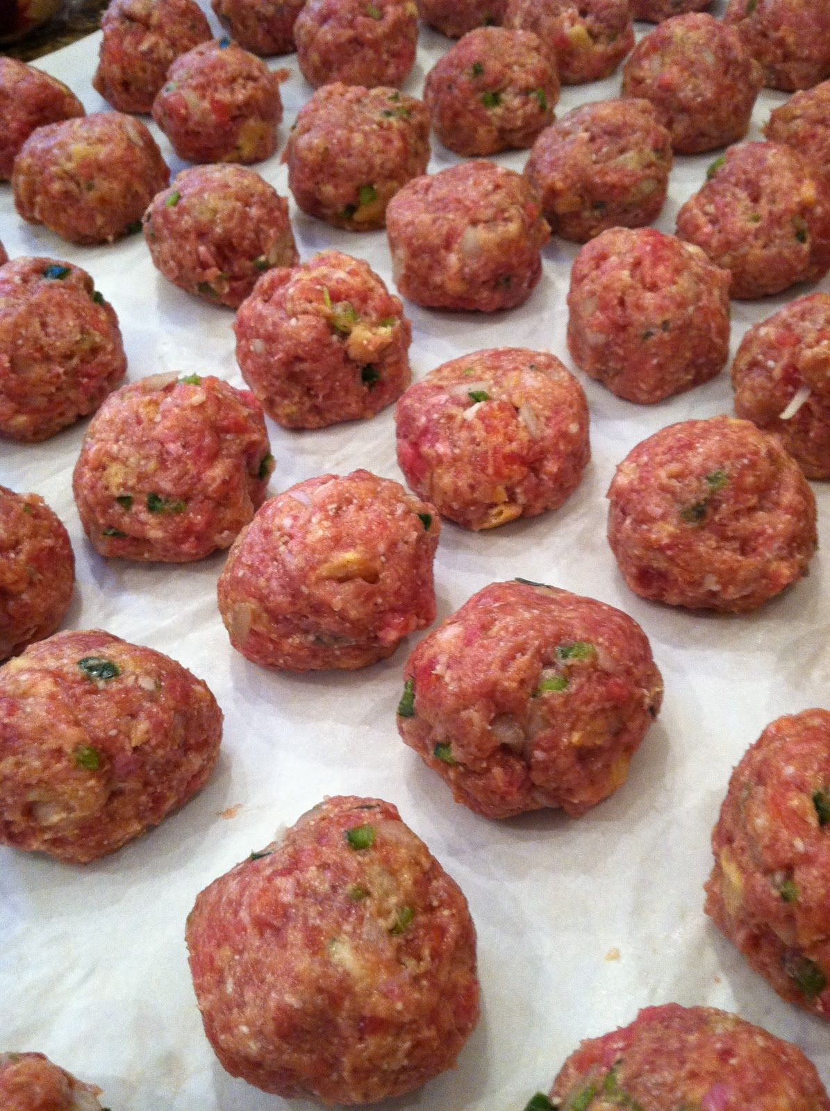 Little Magnolia Kitchen....best meatball recipe and easy too!