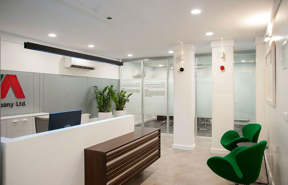 architects office design. Modern Office Design By Roshanak Tehrani || Location: Iran_ Tehran #MemareMan Architects E