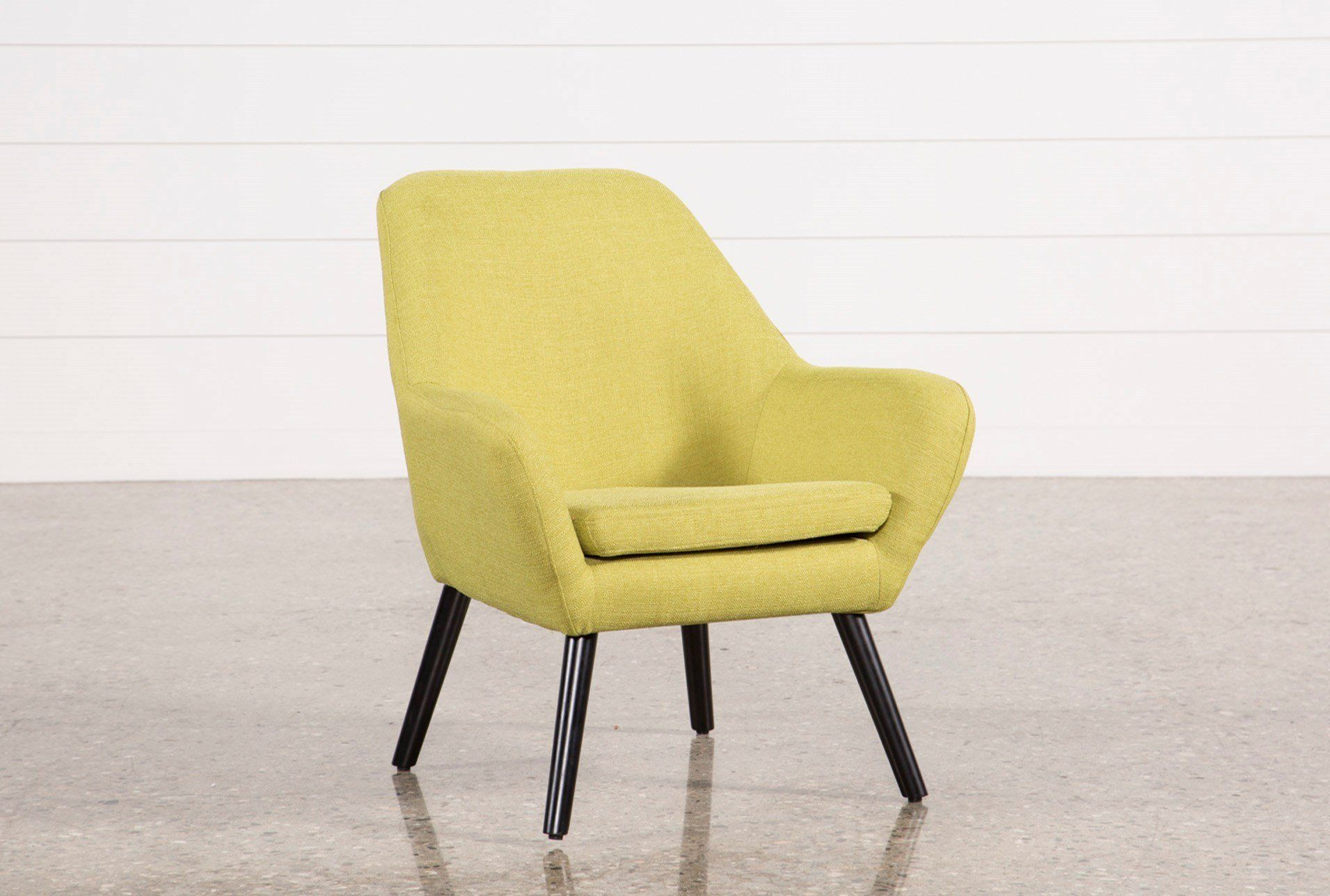 Beautiful All The Right Angles Add All The Right Style To Our Mercury Lime Accent  Chair.
