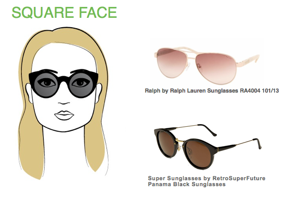 4ddb962122f3 Pin by ShadesDaddy.com on Face Shape Guide | Face shape sunglasses ...