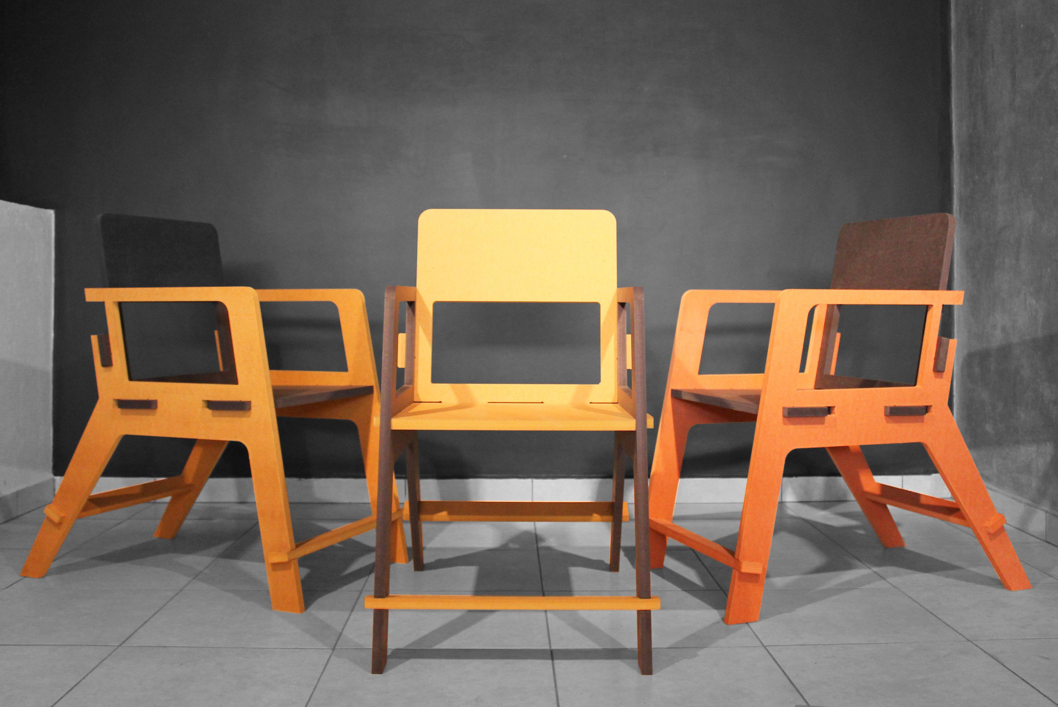 Kuka chair in valchromat by studio dlux valchromat pinterest
