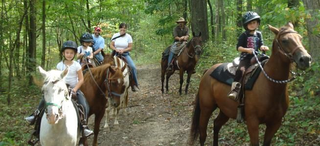 Horseback Riding | Rawhide Ranch USA