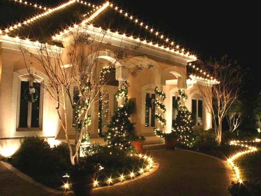 es werde licht funkelnde weihnachtsdeko ideen mit lichterketten. Black Bedroom Furniture Sets. Home Design Ideas