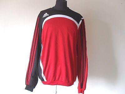 Maglia Trikot Adidas Sport Shirt Milan Fitness Clima Felpa size L (A83)