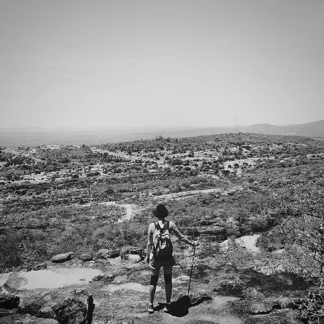 Chegada em Andaraí depois de 6h e 17km de caminhada pelo #valedopati. Ou melhor 15km ainda faltam 2km sob um solzinho diliça. #chapadadiamantina