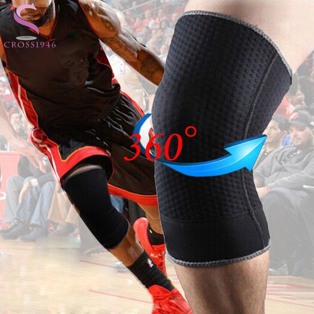 Profissional Joelheira Neoprene Ajoelhado Pad Protetor Para Execucao Badminton Futebol Knee Brace Patella Esporte Rodilleras Knee Pad Compression Sleeves Fitness Gadgets Ski Sport