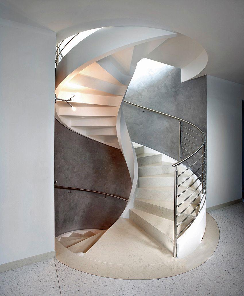 Rizzi escaleras de caracol de cemento dise o de for Como hacer una escalera en caracol