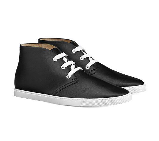 c0a1afd35c1 Open Hermes men s sneaker in calfskin with
