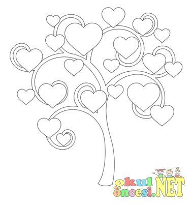 Okul öncesi Kalp Boyama En Yeniler En Iyiler Art And Crafts
