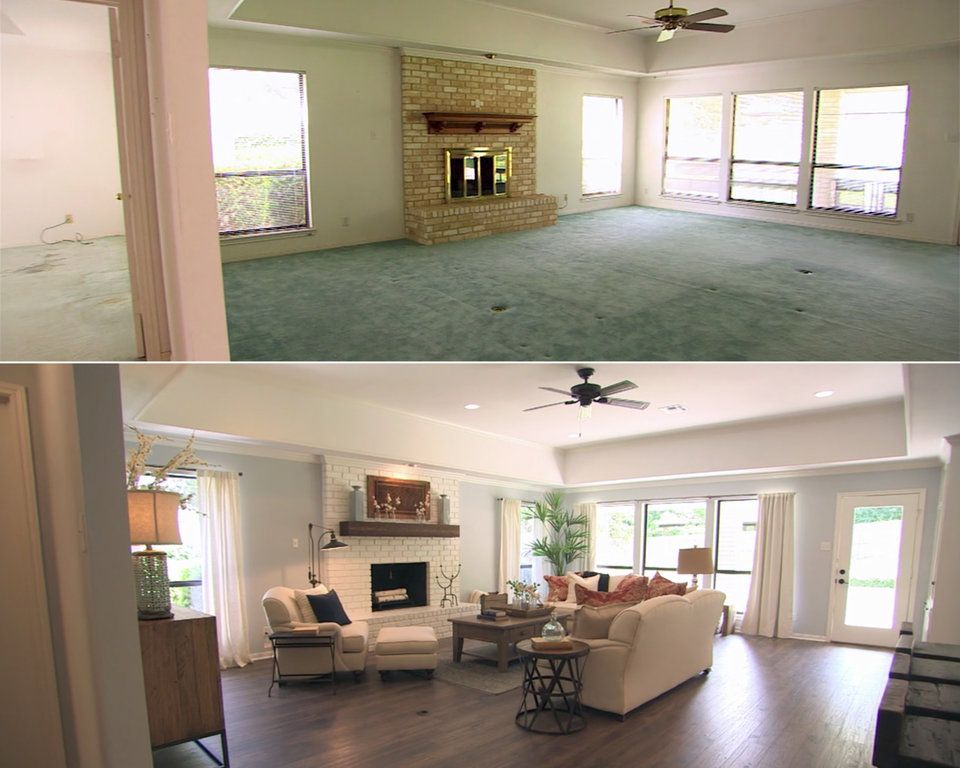 Photo of 31 before-and-after photos of Chip and Joanna's house flips on 'Fixer Upper'