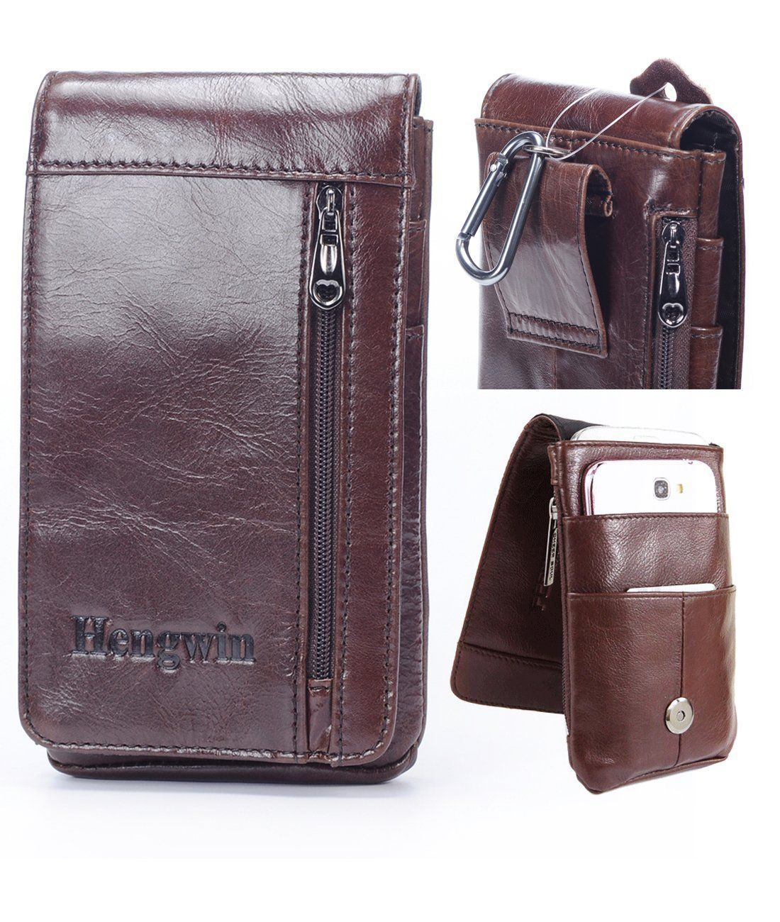 7a5e691a3e8d iPhone 8 Plus 7 Plus Belt Clip Pouch,Genuine Leather Vertical ...