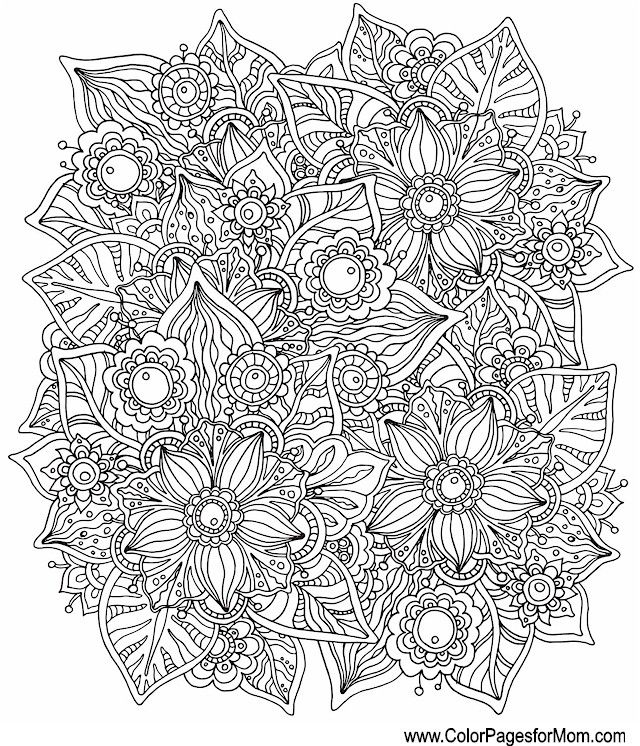 Whimsy Coloring Page 21