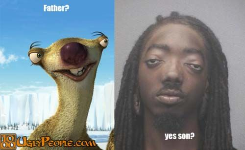Funny Ugly Guy Meme : Father and son made me laugh sons ugly men and
