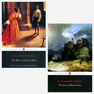 Dumas: The man in the iron mask, The count of monte cristo
