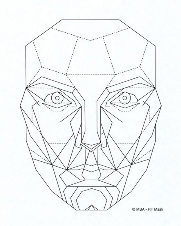 Rfmask Png 624 776 Proporcoes Faciais Mascara De Marquardt Tutoriais De Desenho De Rostos