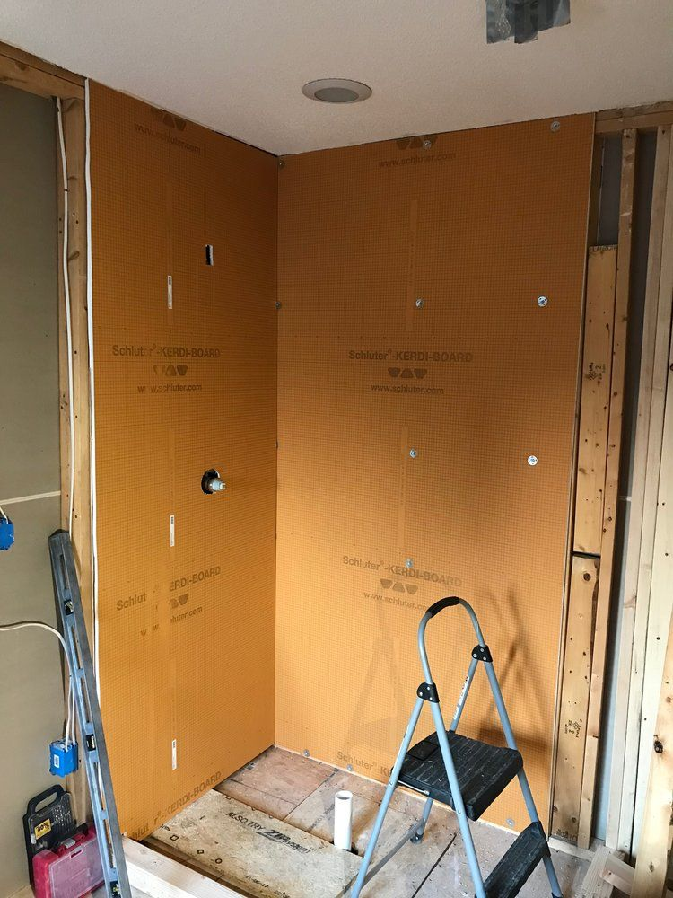 Schluter Kerdi Shower Pan Installation.How We Installed Schluter Kerdi Shower System In Our Master