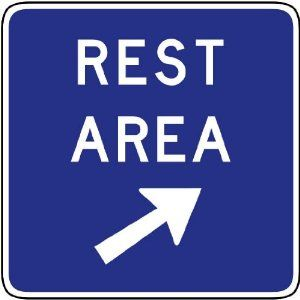 Amazoncom Street Traffic Sign Wall Decals Rest Area Exit