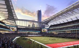 Stan Kroenke S Los Angeles Stadium Plan Could Reshape The Nfl Forever Football Stadiums Nfl Stadiums Los Angeles Rams