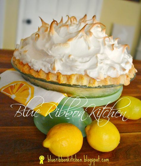 This is a really great lemon meringue pie and absolutely worth making. Sometimes when I see a long wordy recipe, it can feel li... #lemonmeringuepie