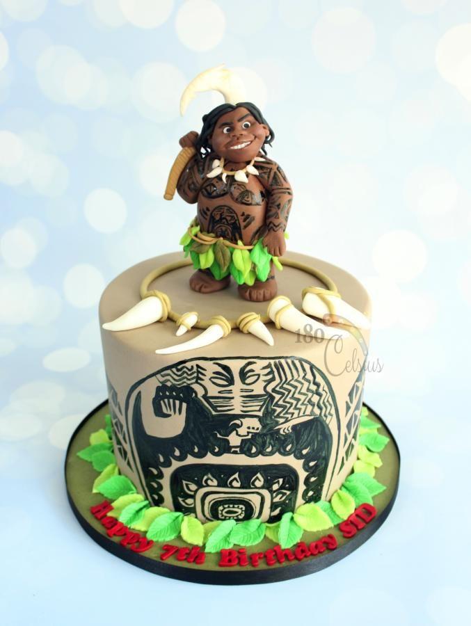 Maui The Shape Shifter Cake By Joonie Tan Summer Cakes