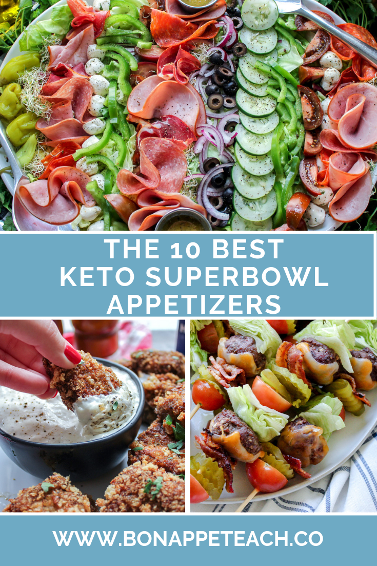 The Best 10 Keto Super Bowl Appetizers Healthy superbowl