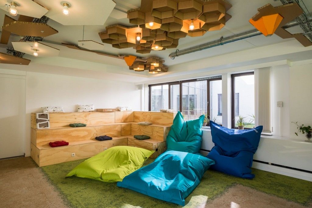 The Innovation Garden was specifically designed for productive team meetings, collective intelligence activities, workshops, co-creation events and conferences.