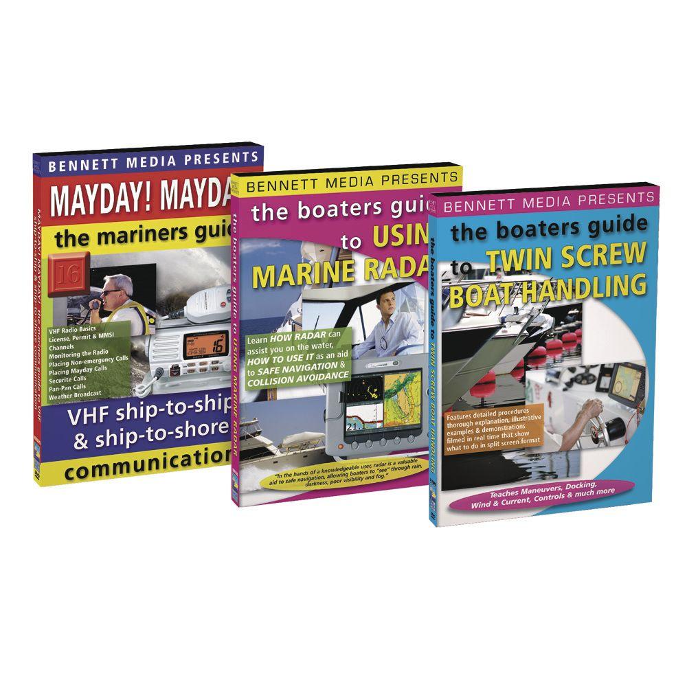 Bennett DVD - Boaters Guide to Mayday!, Marine Radar & Twin Screw Boat Handling DVD Set - https://www.boatpartsforless.com/shop/bennett-dvd-boaters-guide-to-mayday-marine-radar-twin-screw-boat-handling-dvd-set/