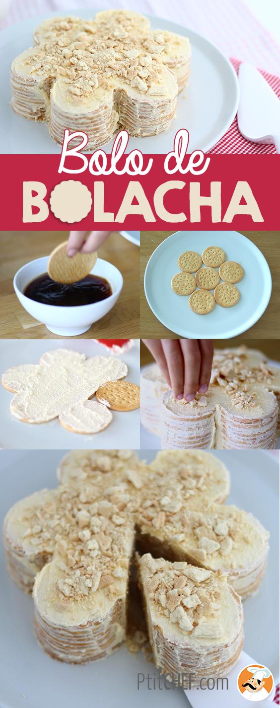Gâteau de biscuits portugais, bolo de bolacha