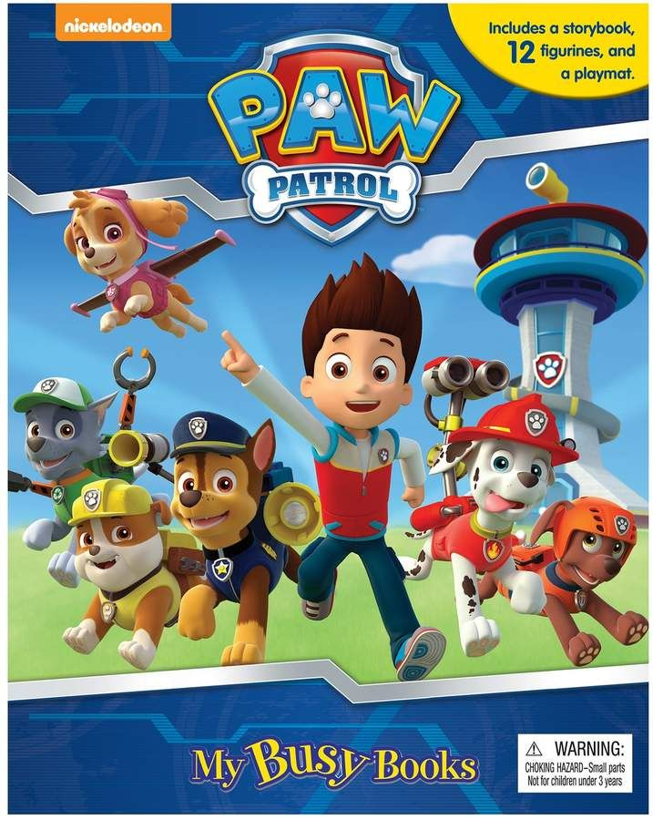 Paw Patrol Busy Book Activity Kit - My busy books, Paw patrol, Busy book, Activity kits, Paw, Paw patrol party -