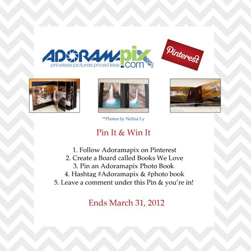 Pinterest Contest ! Comment Here.
