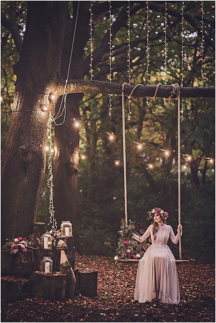 Enchanted Woodland, MidSummers Night Bridal Inspiration