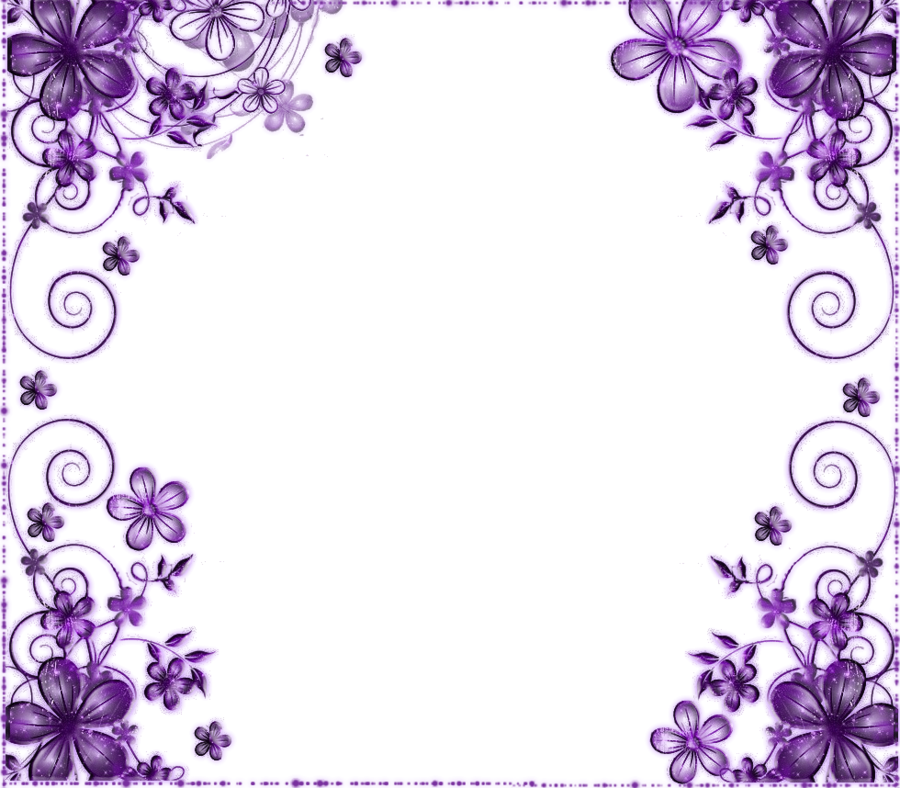 Purple flower by on DeviantArt