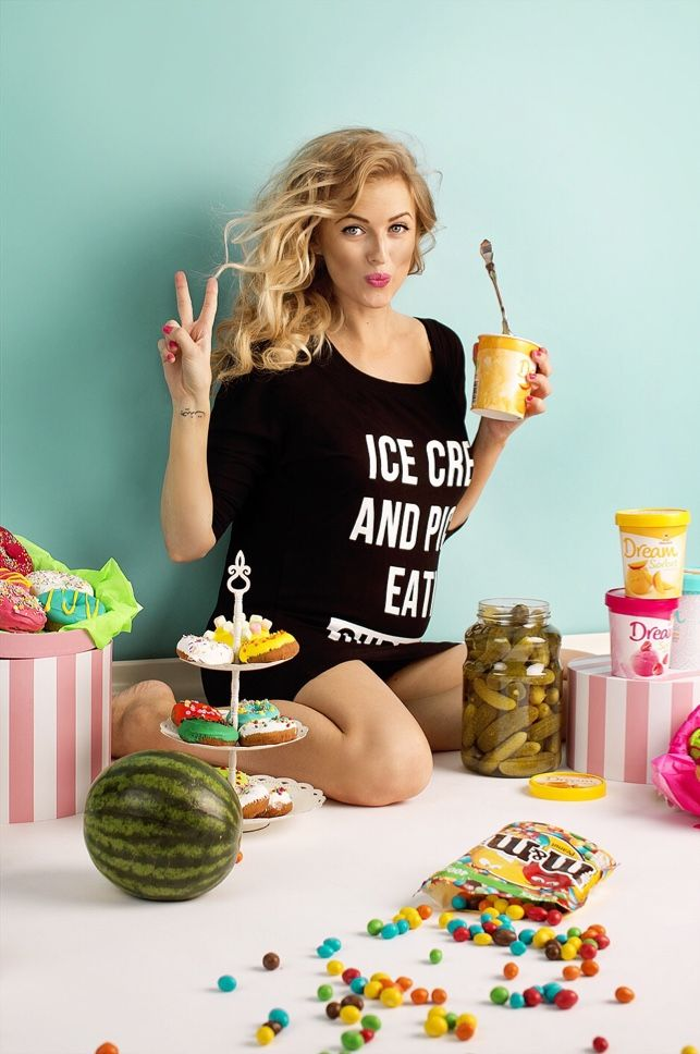 Pickles And Ice Cream Maternity
