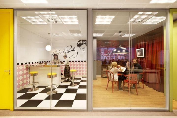 Retail Design Bureau.Sony Music Offices By Aecom Madrid Spain Retail Design Blog