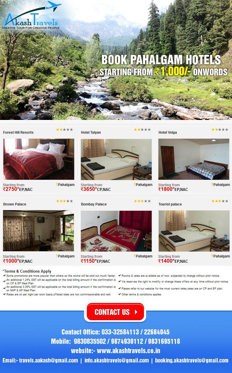 Book PAHALGAM Hotels. Visit our website.