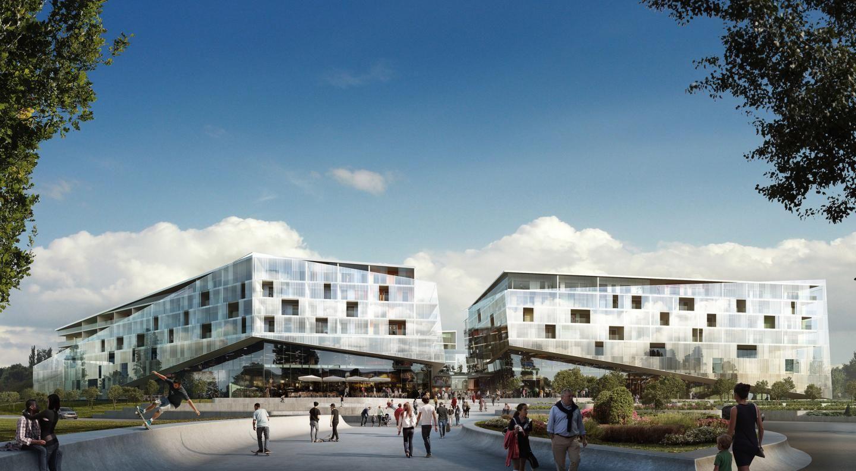 Horisont shopping center/residentials