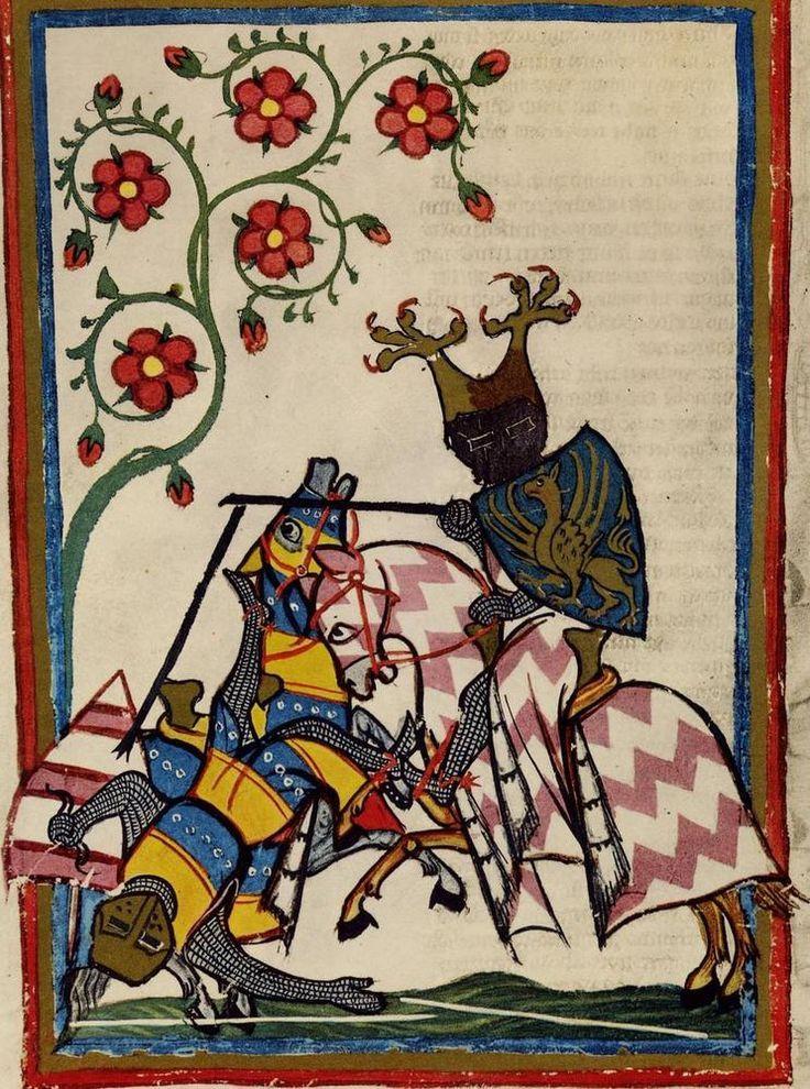 codex manesse | UBH Cod. Pal. germ. 848 Codex Manesse | Medieval (c. 1050-1400 AD ...