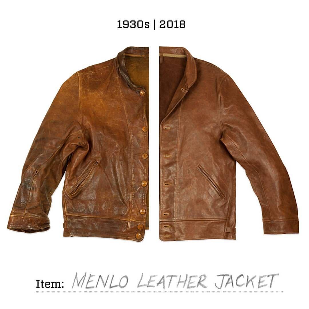 Levis Vintage Clothing On Instagram On The Left Albert Einstein S Original Levi S Menlo Coss Leather Jacket Vintage Leather Jacket Levis Vintage Clothing