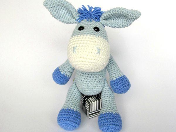 Donkey Ruda amigurumi by DioneDesign