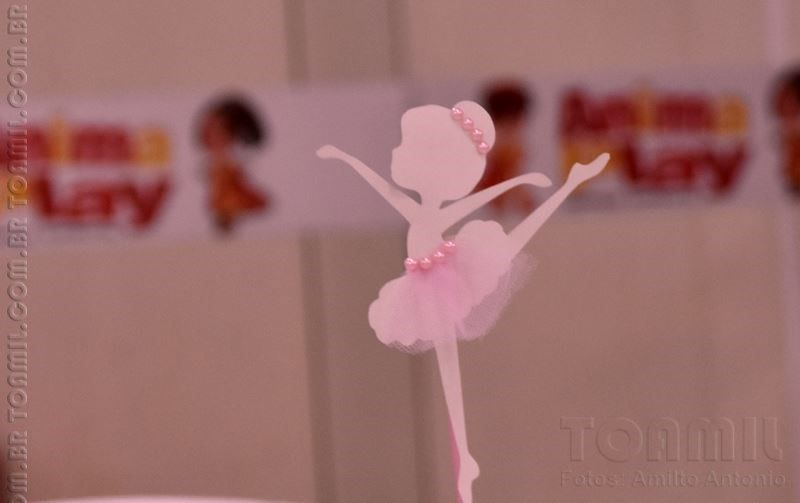 Dicas pra Mamãe: Festa de Bailarina - Julia 03 anos - Faça você mesmo