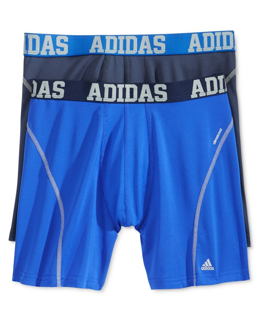 Men S 2 Pack Climacool Performance Boxer Briefs Keith Adidas Men