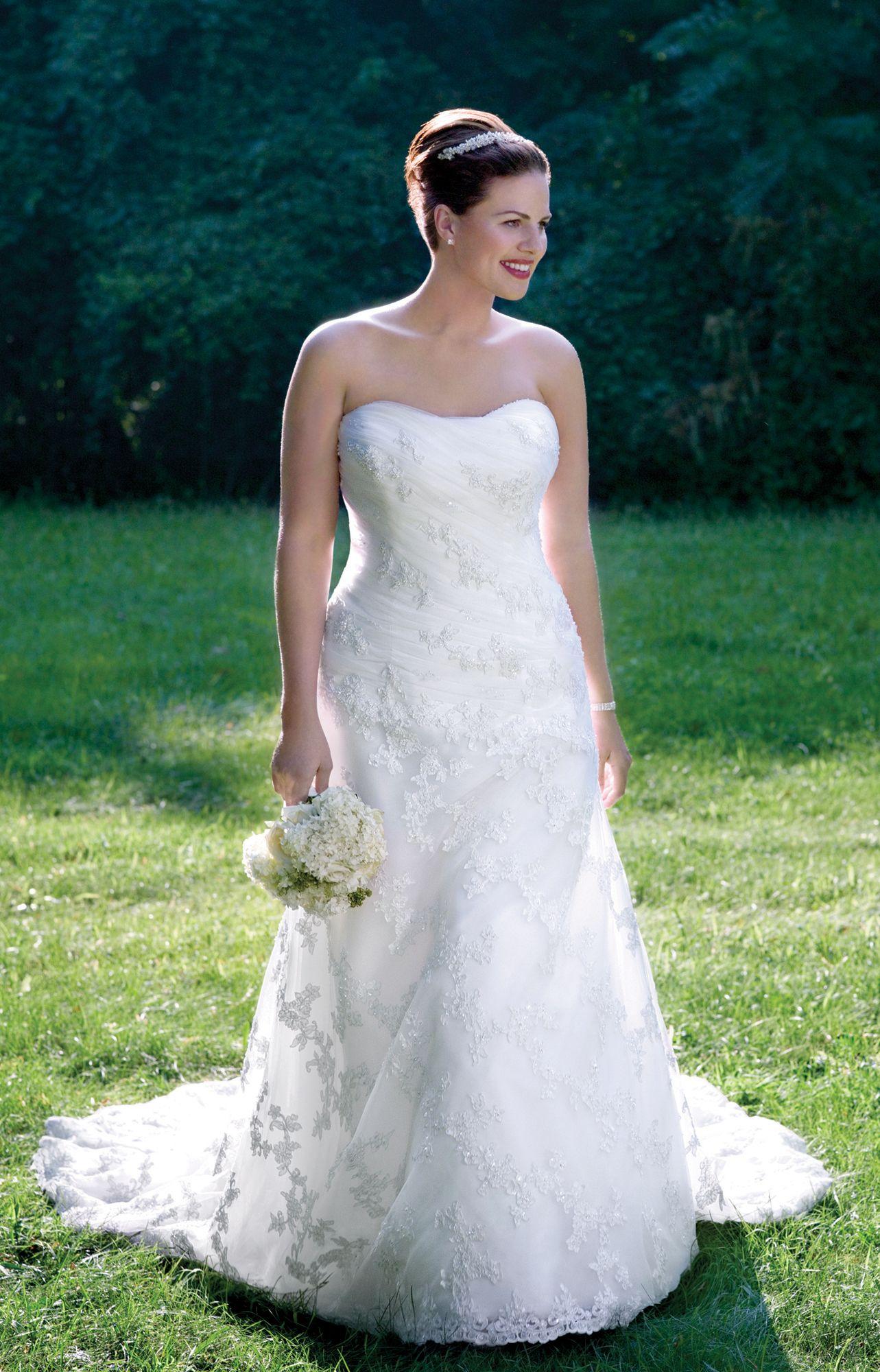 Alfred Angelo Plus Size Wedding Dresses - Style 1807W | Cute Ideas ...