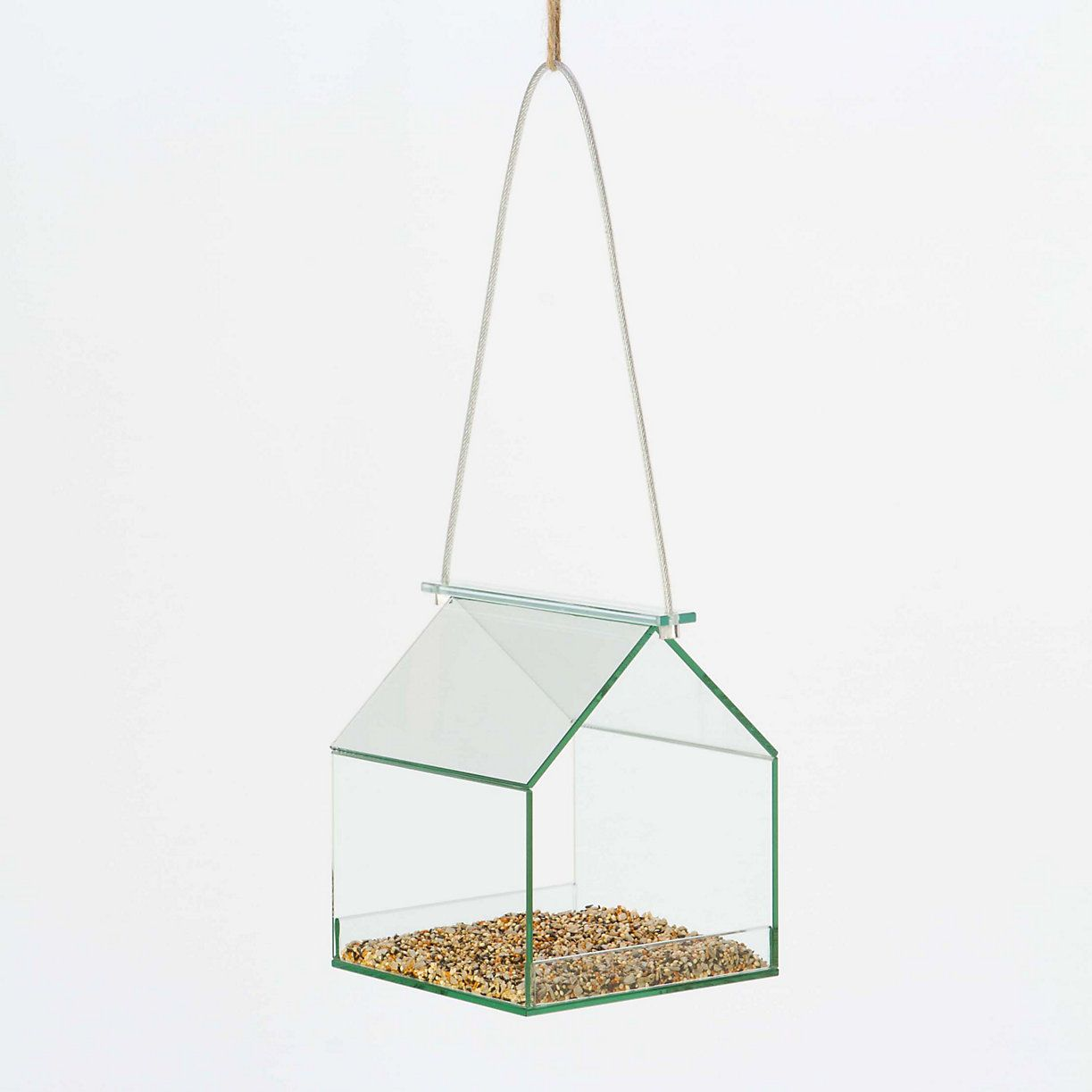 Glass House Birdfeeder in New SHOP Outdoor Living at Terrain